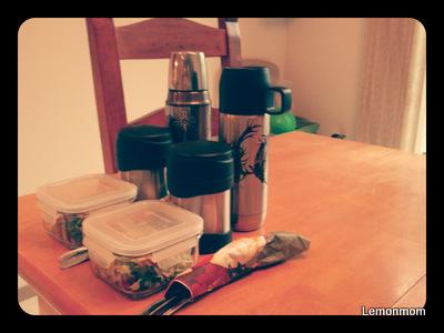 Przygotowałam drugie śniadanie do szkoły