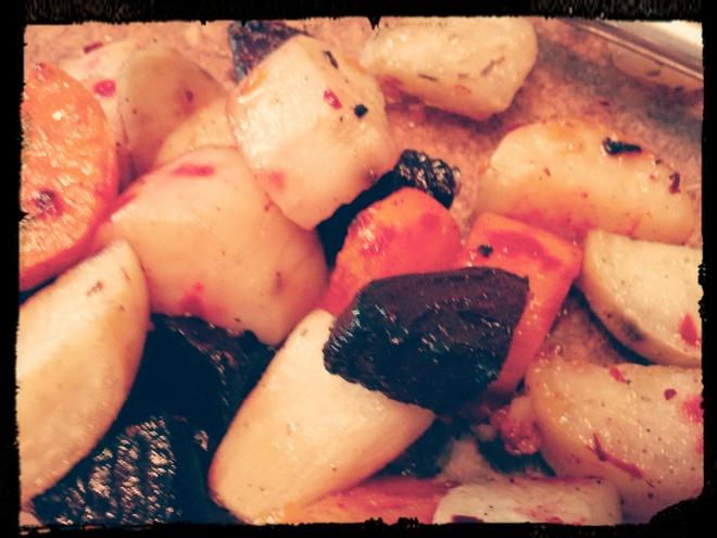 Pieczone warzywka