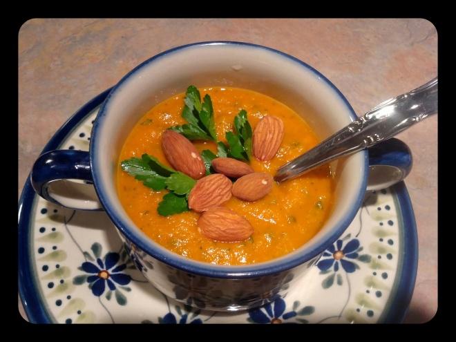 Pomidorowo-soczewicowa zupa krem