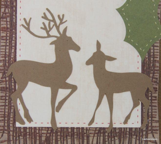 Jeleń i sarenka