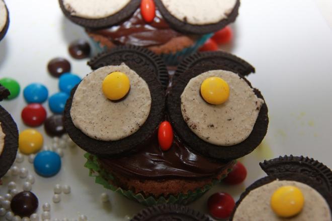 Muffinki sowy