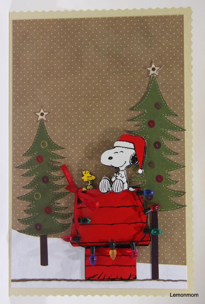 Świąteczny Snoopy