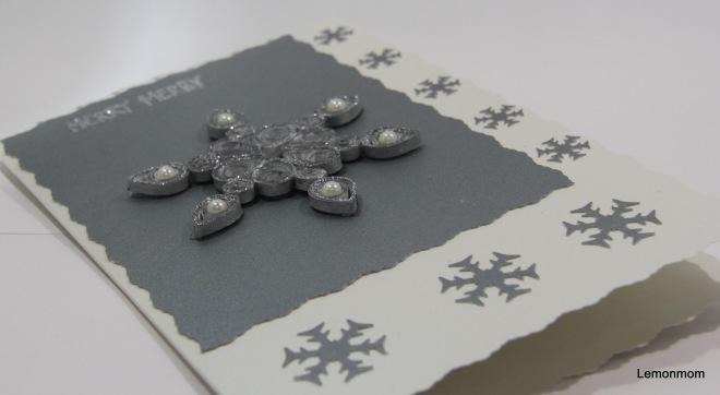 Srebrna śnieżynka