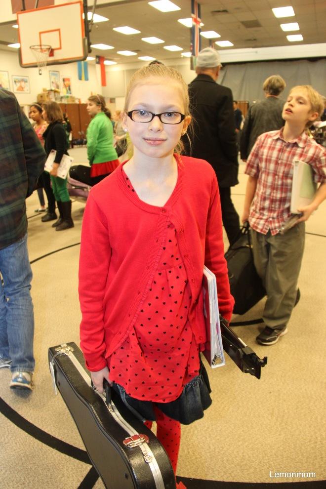 J. po koncercie szkolnej orkiestry